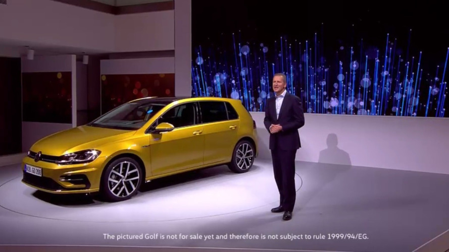 Volkswagen Golf 2017 - facelift