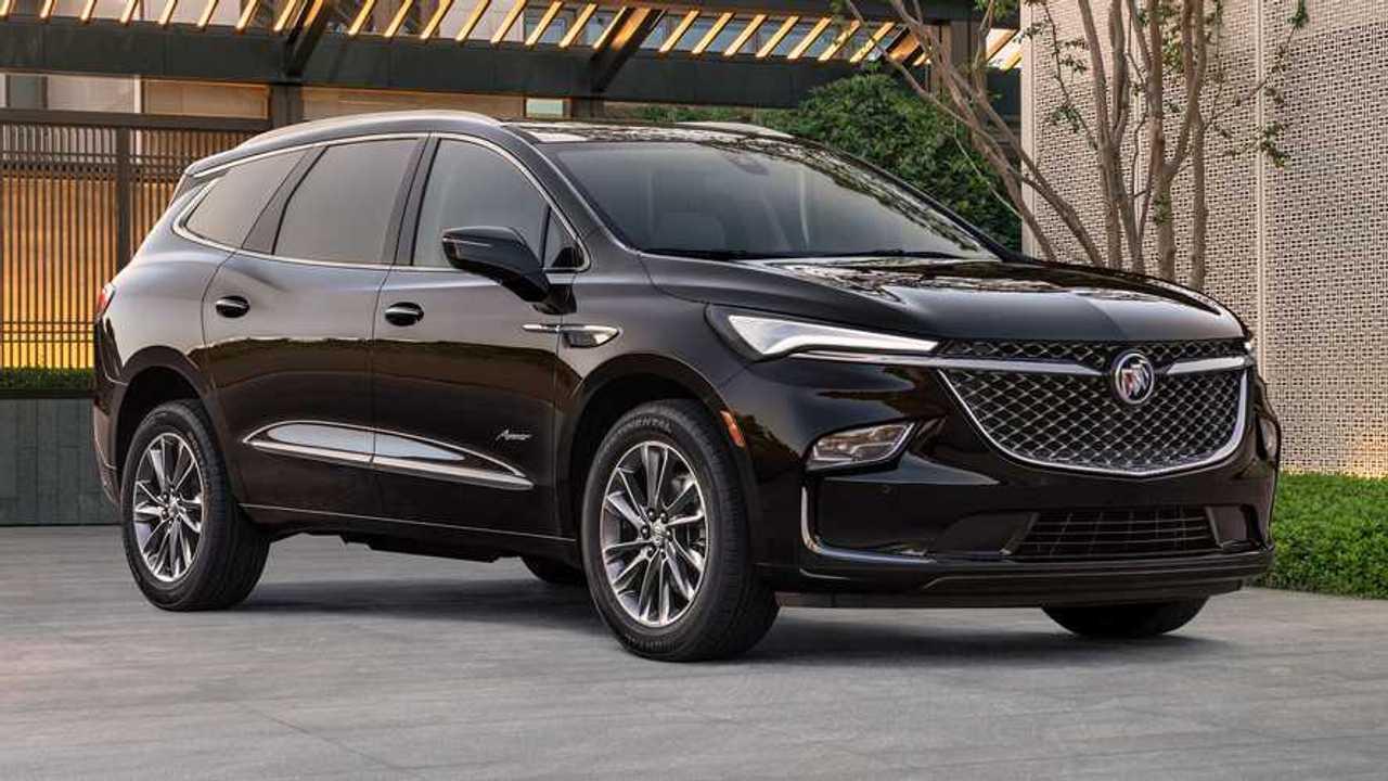2022 Buick Enclave Front