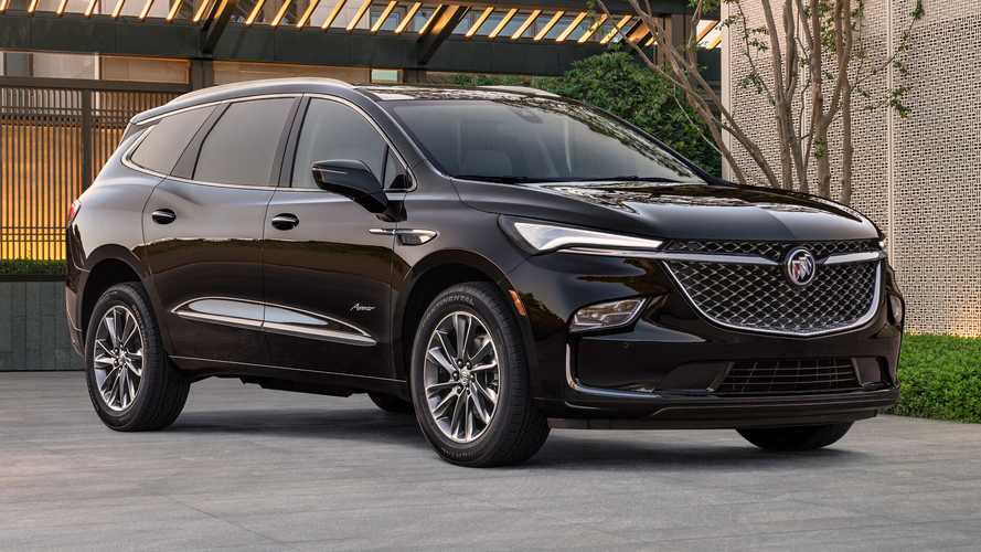 2022 Buick Enclave Revealed Showing Bigger Grille, Refreshed Face