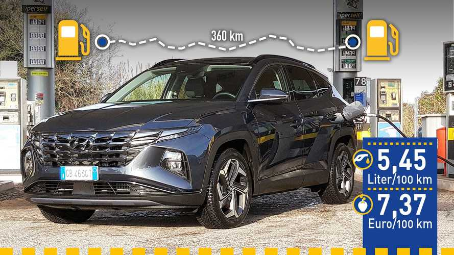 Tatsächlicher Verbrauch: Hyundai Tucson Hybrid im Test