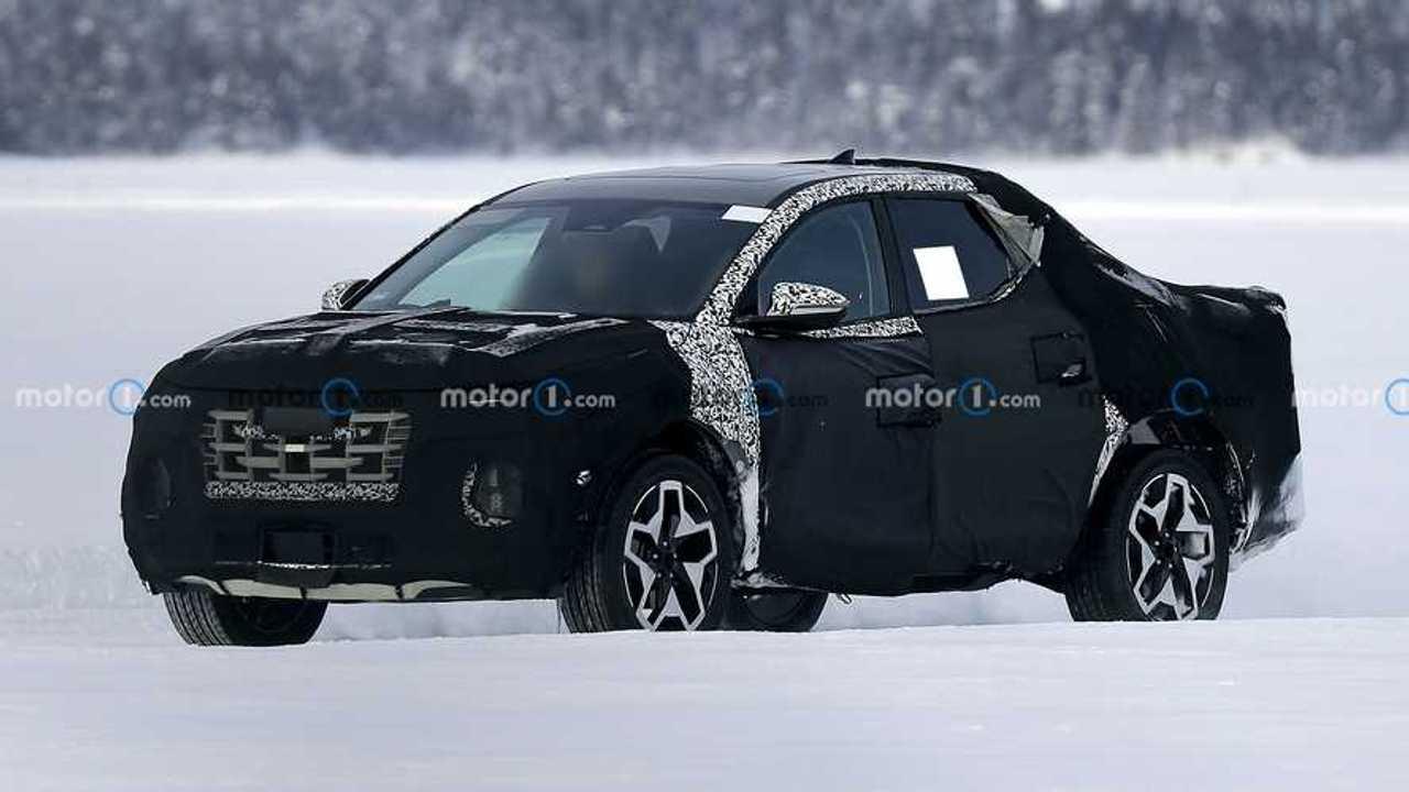 2021 Hyundai Santa Cruz Yeni Casus Fotoğraflar