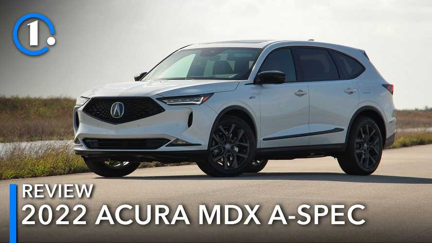 2022 Acura MDX A-Spec Review: On Its A Game