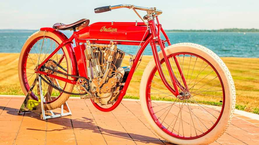 This 1913 Indian Twin Board Track Racer Was A Superbike In Its Time