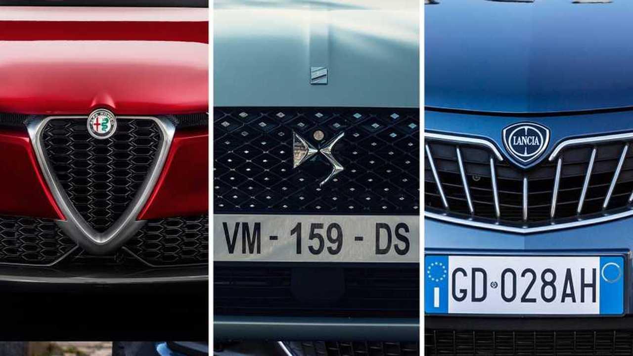Alfa Romeo, DS e Lancia
