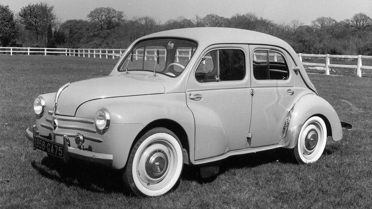 75 años del Renault 4CV