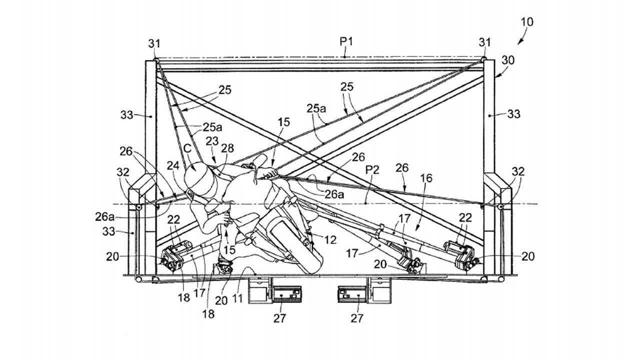 Vi-Grade Motorcycle Simulator Patent, Front
