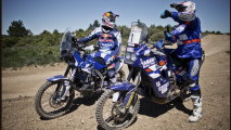Dakar 2014: la squadra Yamaha Motor France - Cyril Despres e Stephane Peterhansel