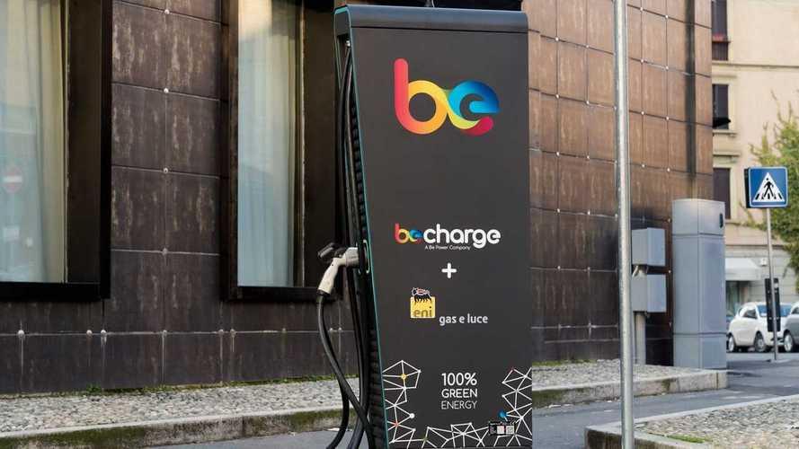 Svolta Eni sull'auto elettrica: ora ha tutte le colonnine Be Charge