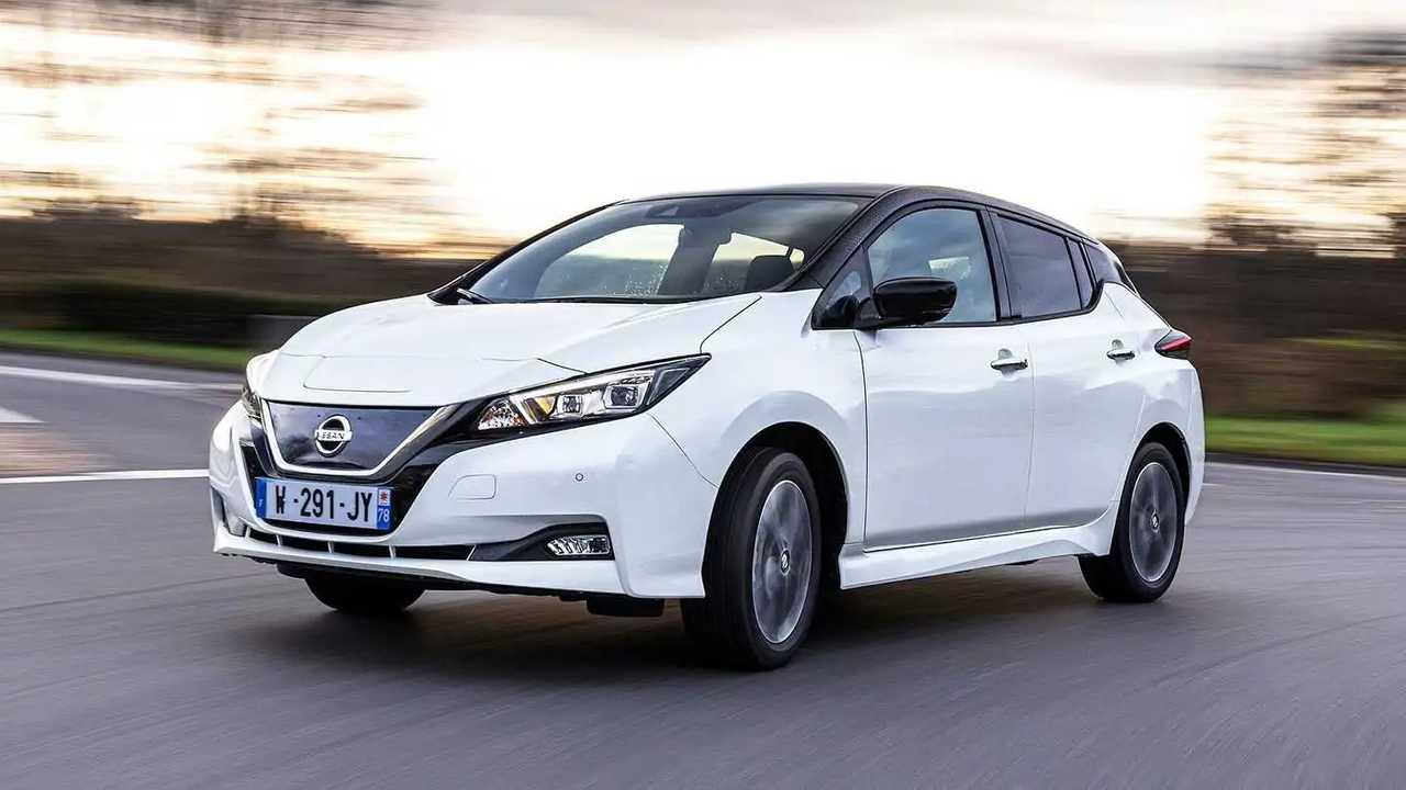 Nissan Leaf ön cephe