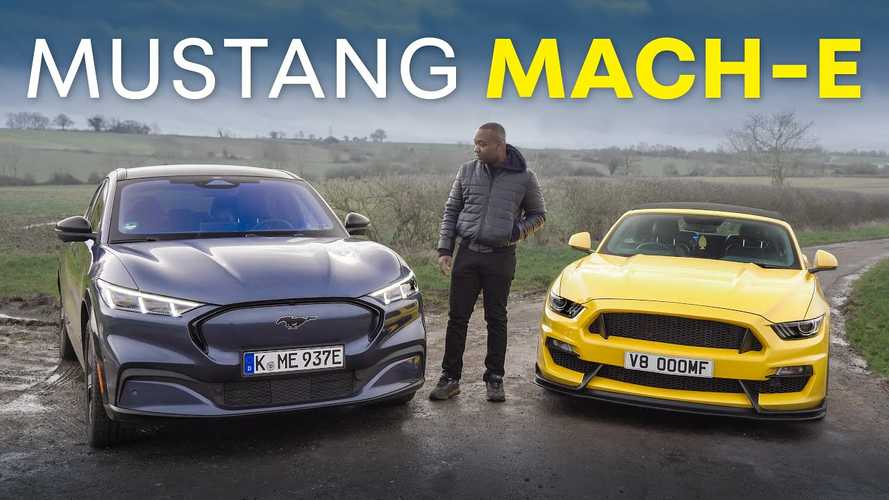 How Much Ford Mustang Is There In The Mach-E Electric Crossover?