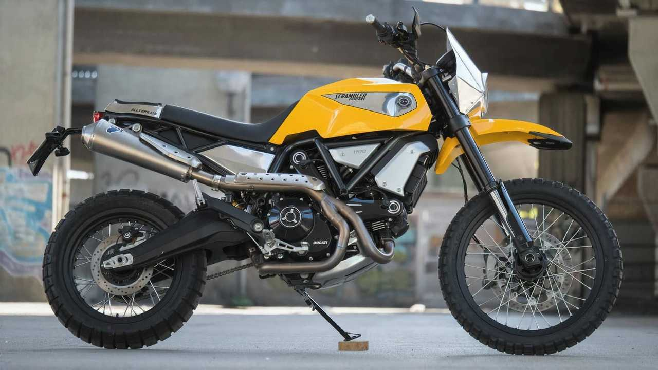 Officine Rossopuro Ducati Scrambler 1100 Tuttoterreno - Right Side
