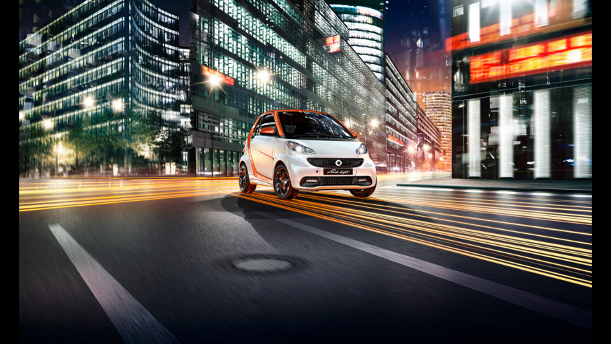 smart fortwo, canto del cigno con la edition flashlight