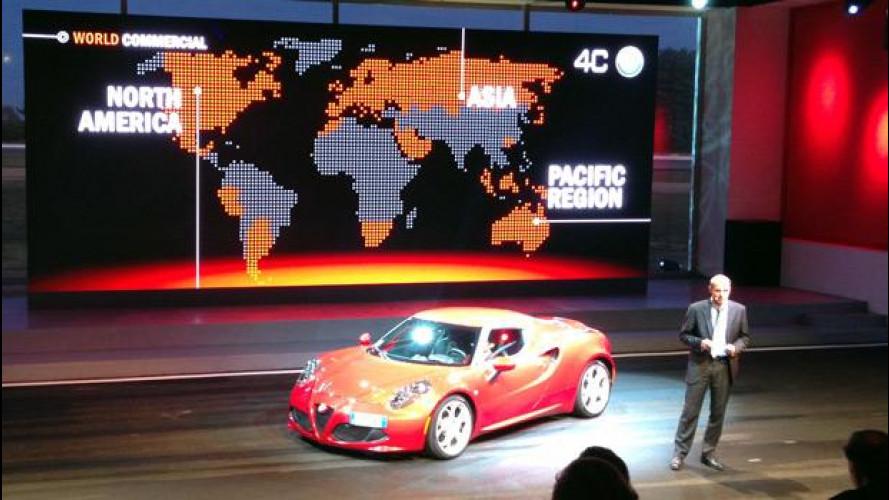 Alfa Romeo 4C, il gran debutto a Balocco