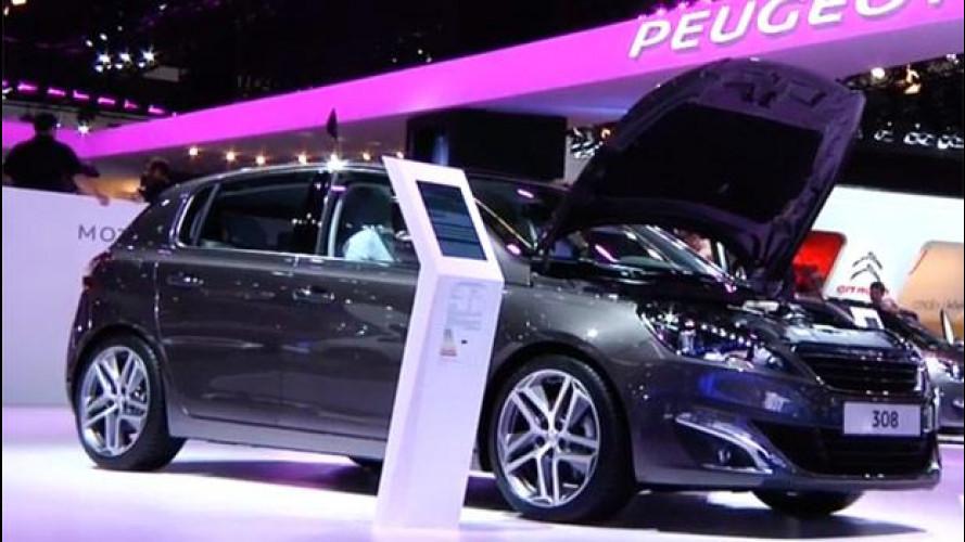 Nuova Peugeot 308: