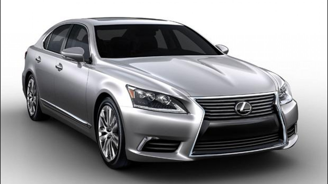 [Copertina] - Lexus LS restyling, nuove immagini