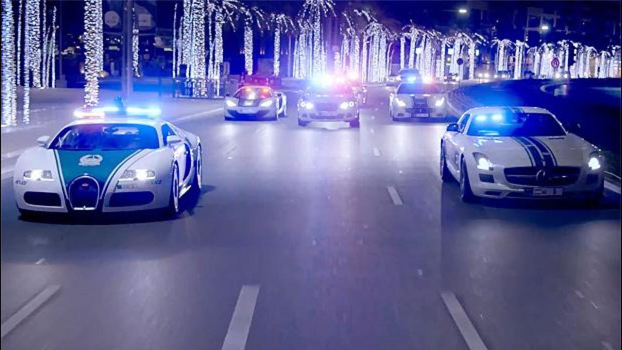 [Copertina] - A Dubai la legge viaggia in supercar [VIDEO]