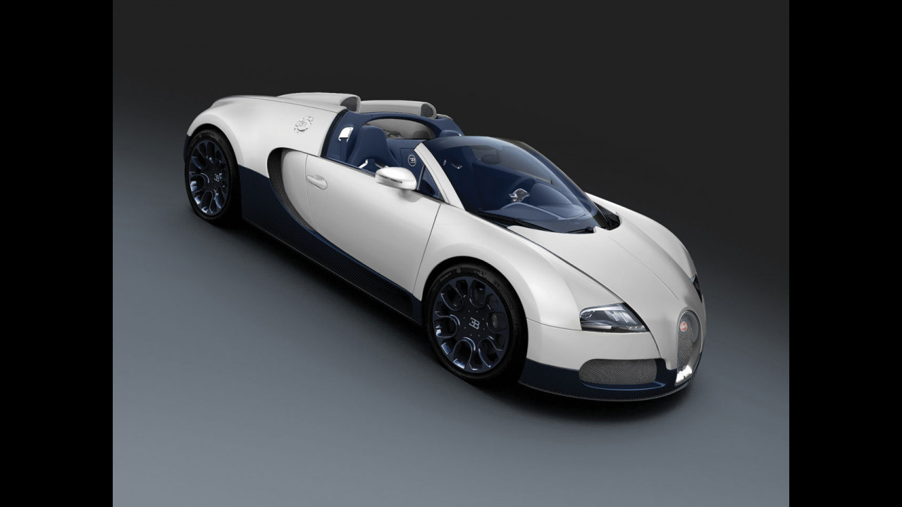 Bugatti Veyron 16.4 Grand Sport for China
