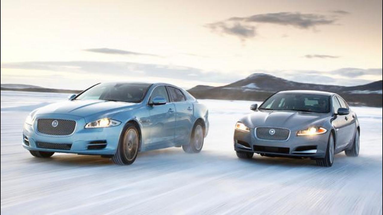 [Copertina] - Jaguar XF e XJ a trazione integrale AWD