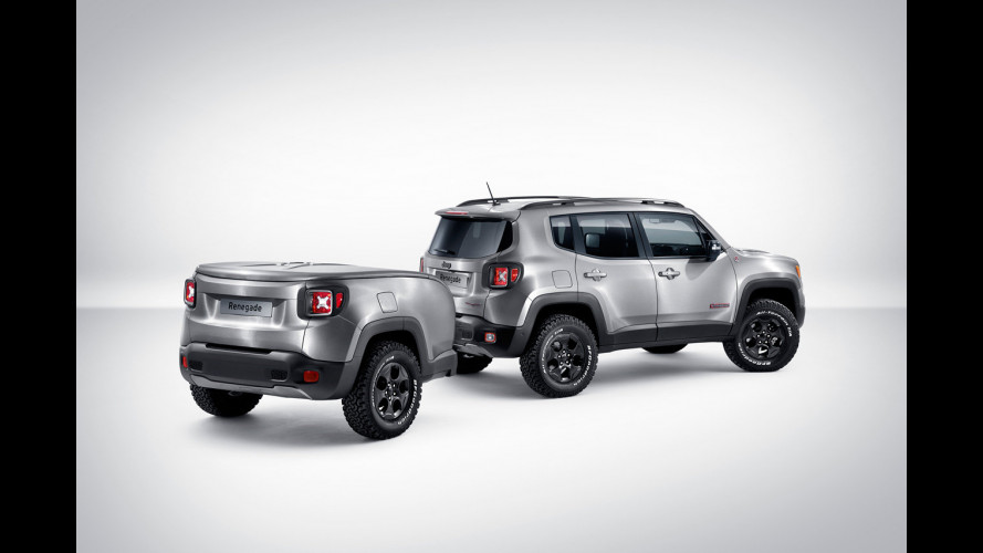 "Jeep Renegade Hard Steel, speciale ""dentro"""