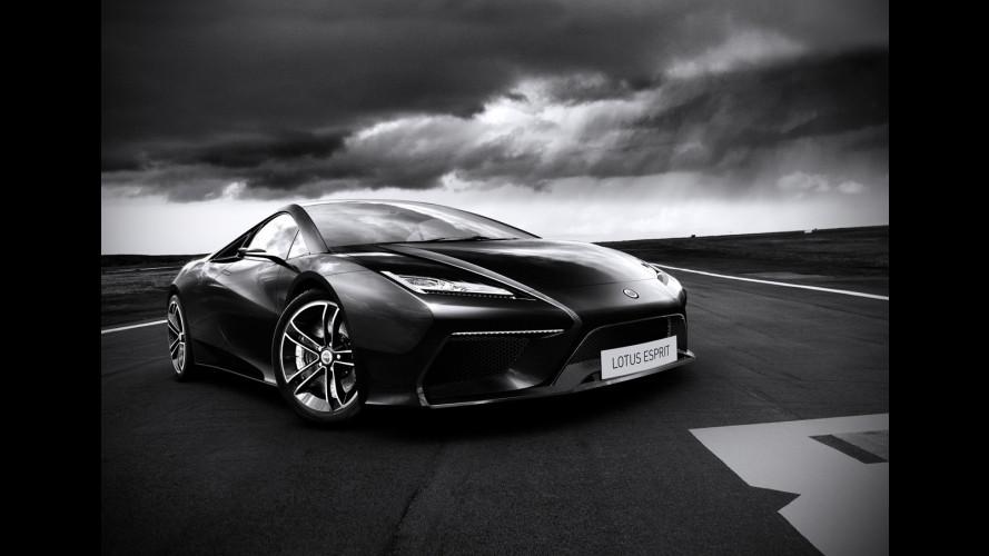 570 CV per la nuova Lotus Esprit