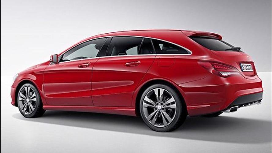 Mercedes CLA Shooting Brake, la familiare coupé è servita
