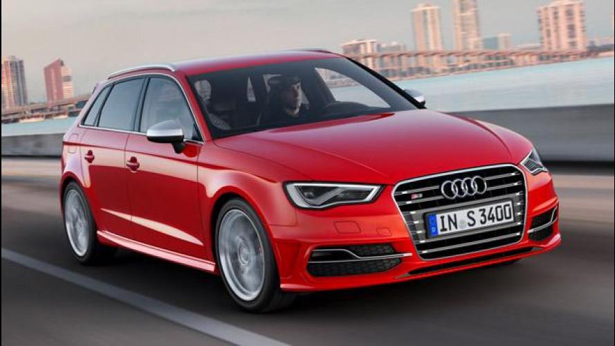 Audi S3 Sportback: la famiglia va di corsa