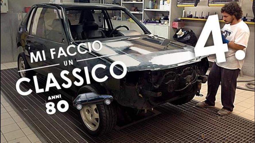 Peugeot 205 GTi, l'ora del restauro