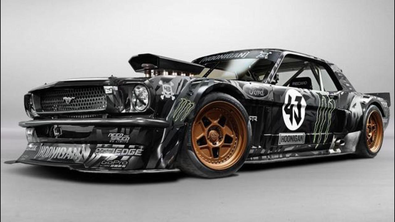 [Copertina] - Ken Block svela la mostruosa Ford Mustang di Gymkhana SEVEN