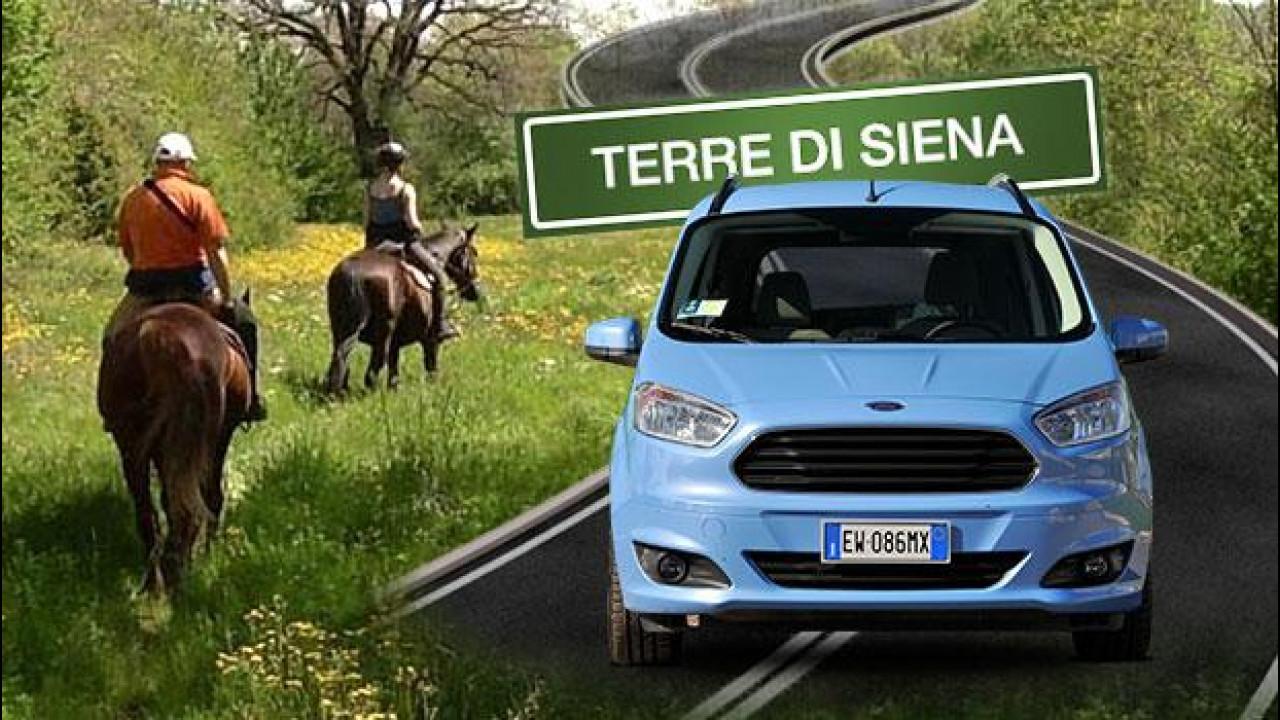 [Copertina] - Trekking a cavallo nelle Terre di Siena