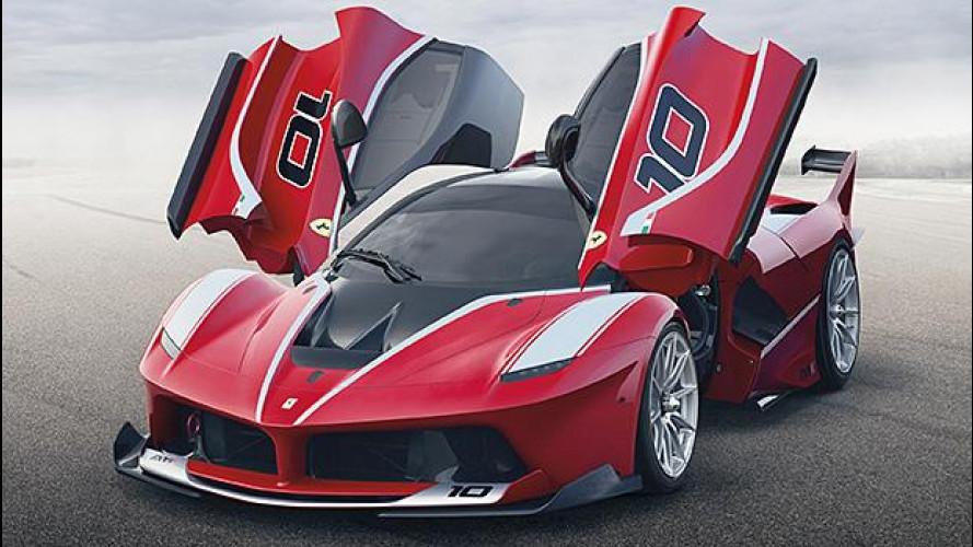 Ferrari FXX K e le altre regine da 1.000 CV