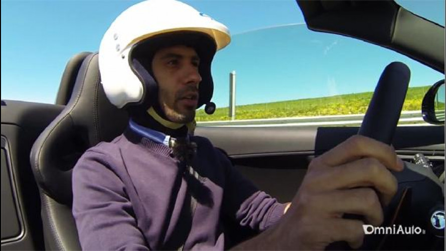 Jaguar F-Type, la video-prova su strada e in pista