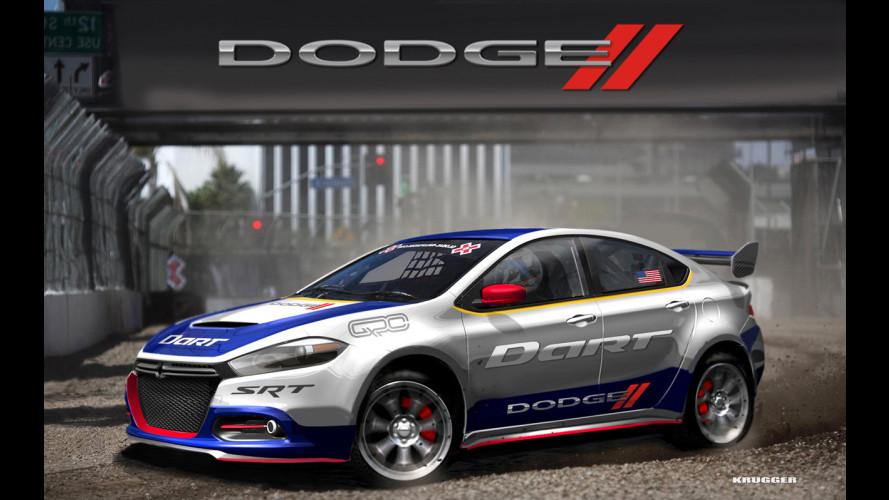 """Dodge Dart, nei rallycross la """"cugina"""" della Giulietta"""