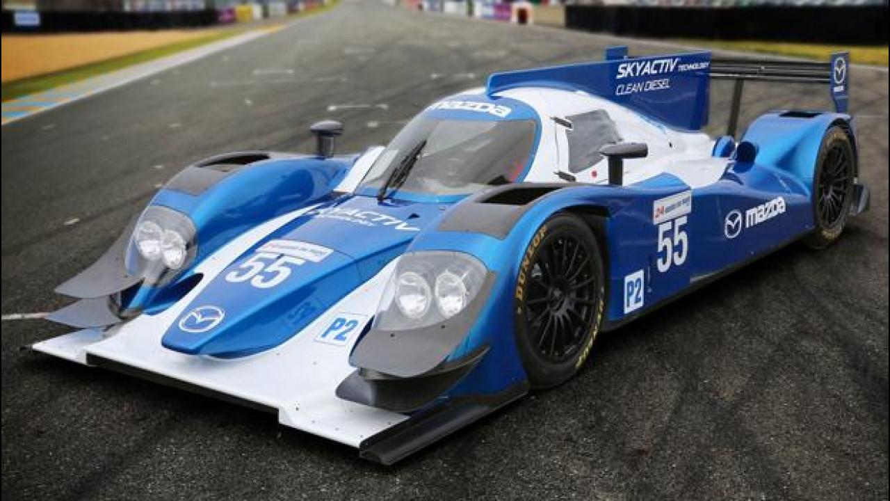 [Copertina] - Mazda punta sul Diesel per la 24 Ore di Le Mans 2013