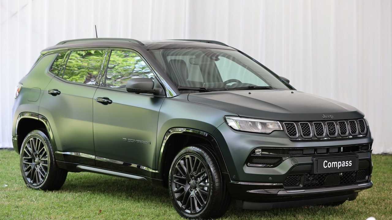 Yeni Jeep Compass Ön cephe