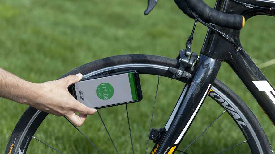 New Bicycle Tire Pressure App Has Potential For Motorcyclists