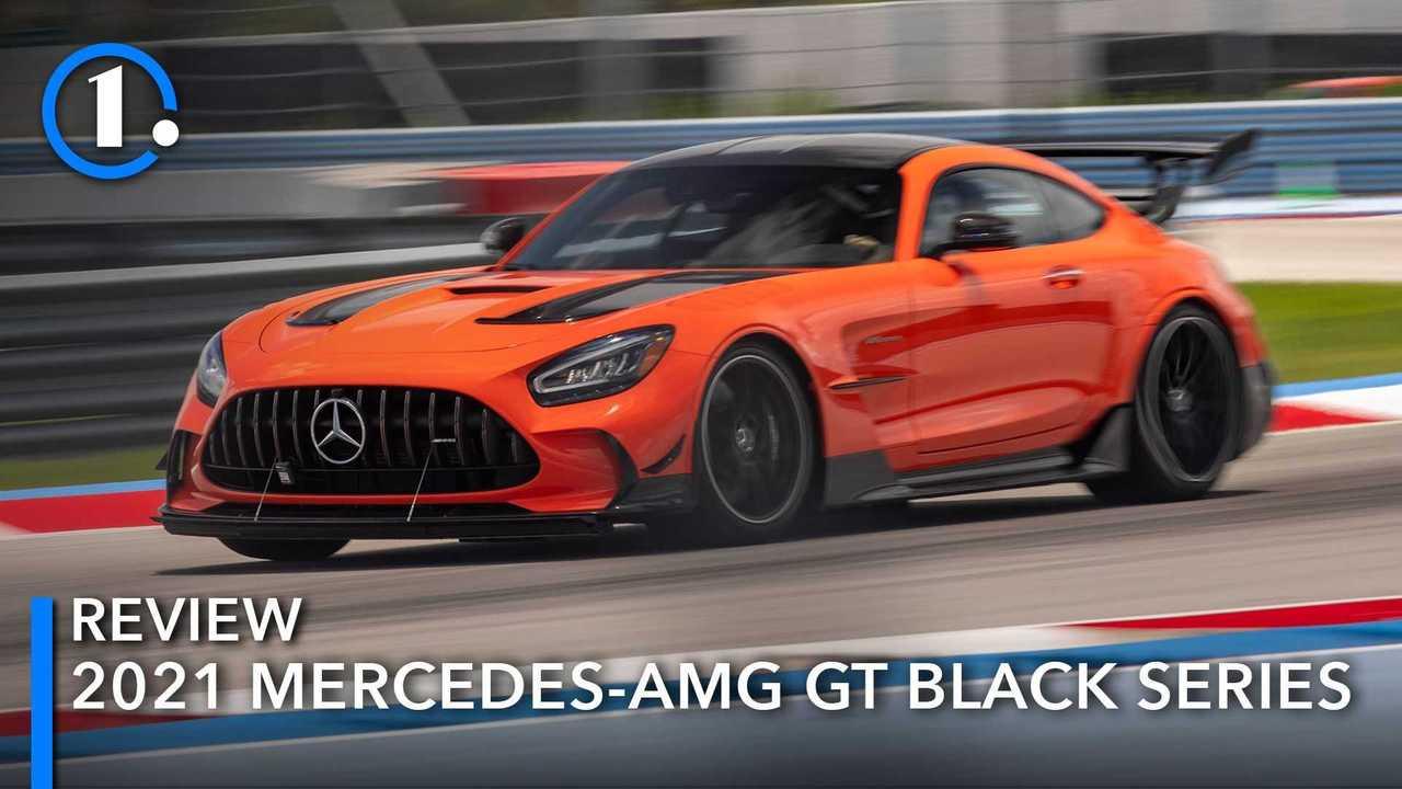 2021 Mercedes-AMG GT Black Series First Drive