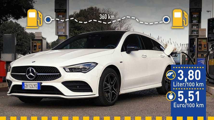 Tatsächlicher Verbrauch: Mercedes CLA 250 e im Test