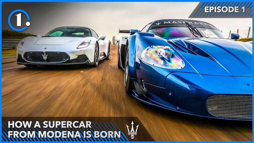 How A Maserati Supercar Is Born: From MC12 To MC20