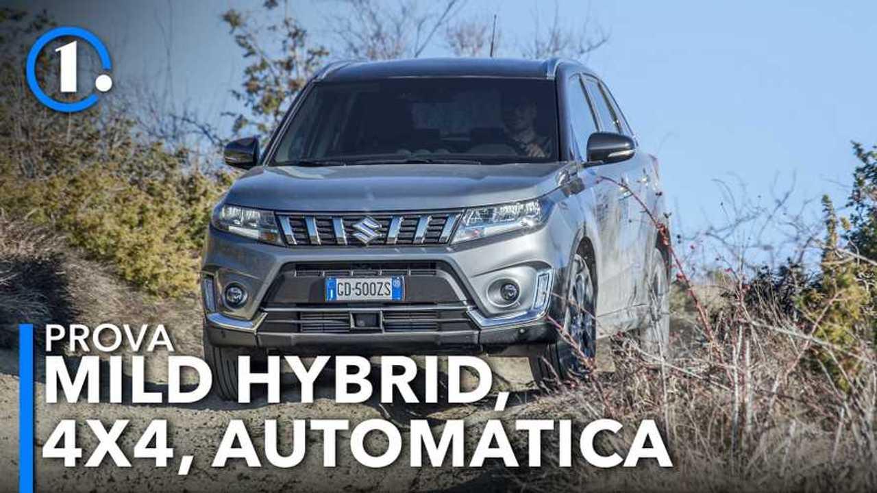 Suzuki Vitara Hybrid 4x4 automatica, la prova