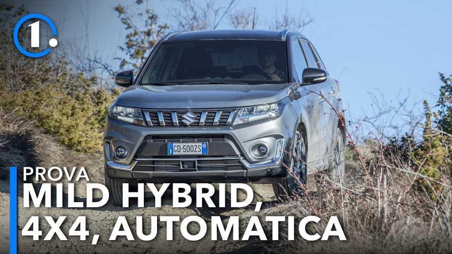 Suzuki Vitara Hybrid, la prova della 4x4 col cambio automatico