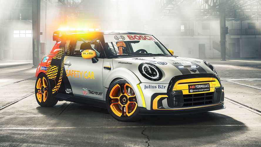 MINI Electric Pacesetter, el nuevo Safety Car de la Fórmula E