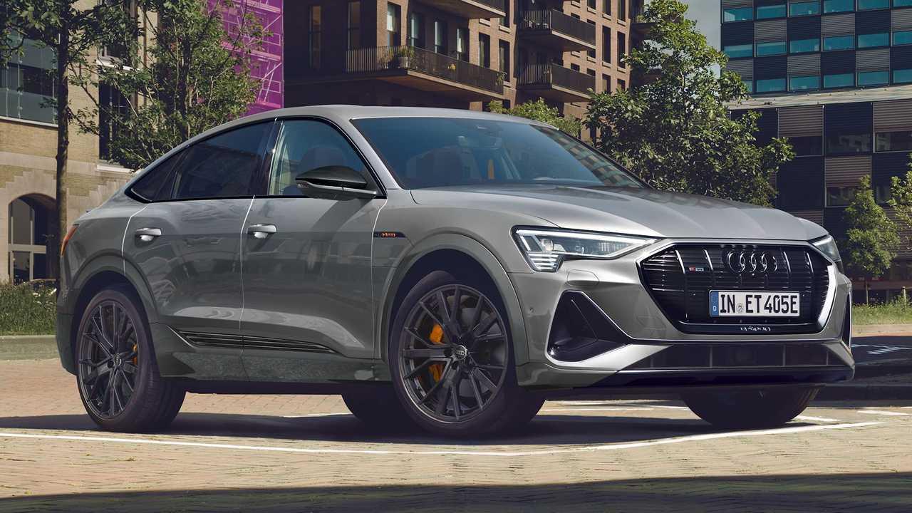 Audi e-tron Sportback S line black edition