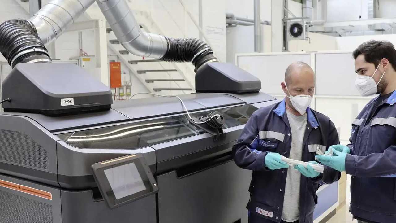 Volkswagen 3D Yazıcı Teknolojisi