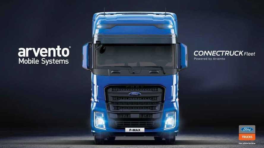 Arvento ve Ford Trucks teknolojik iş birliğine gitti