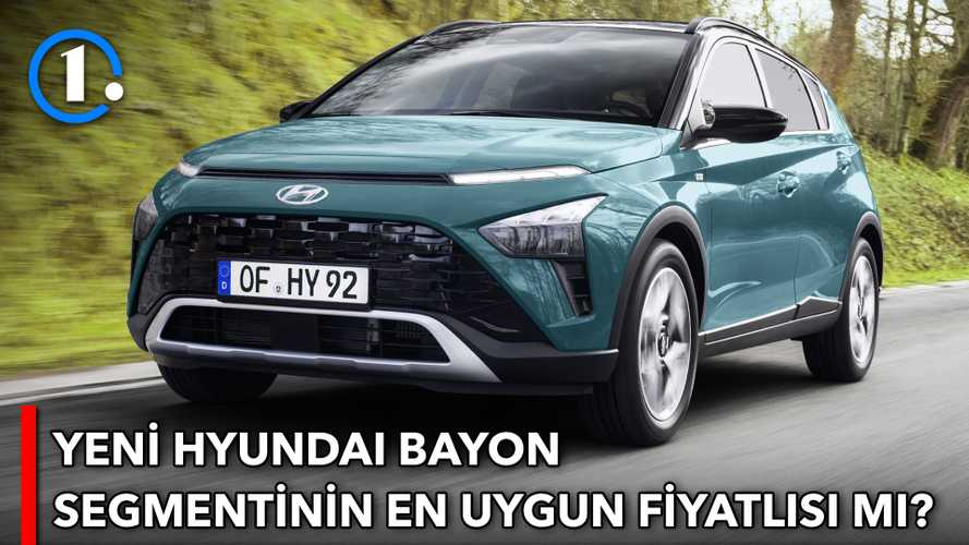 Yerli Hyundai Bayon'un fiyatları belli oldu