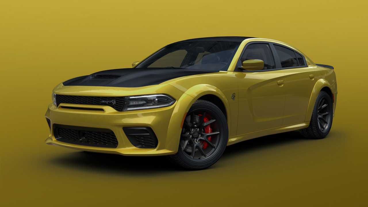 Gold Rush Dodge Charger