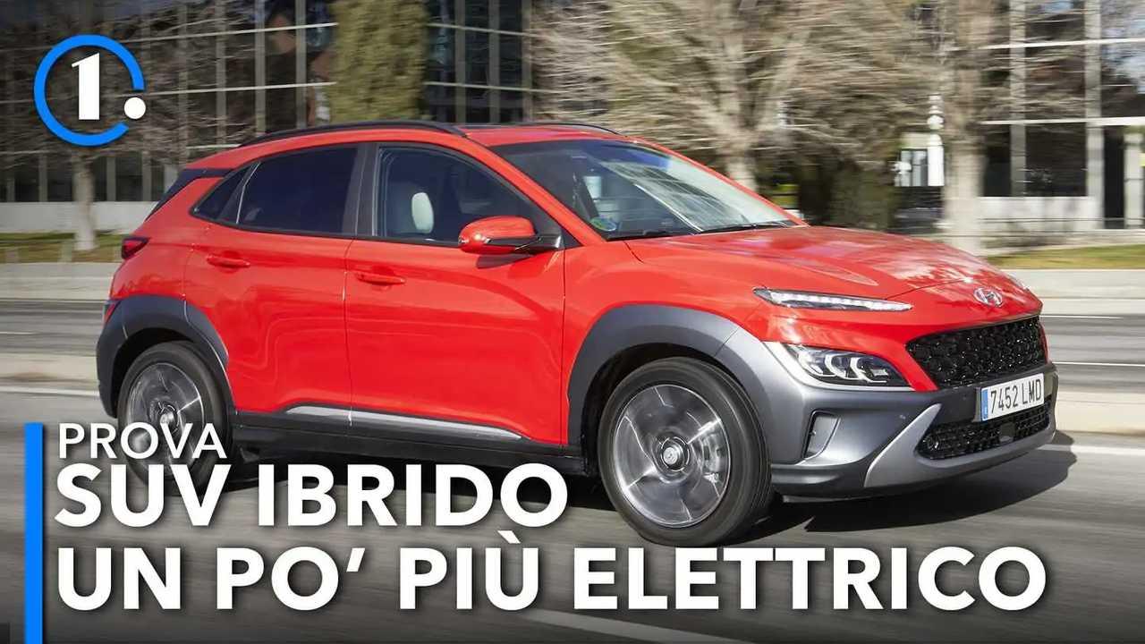 Hyundai Kona Hybrid restyling (2021), la prova su strada