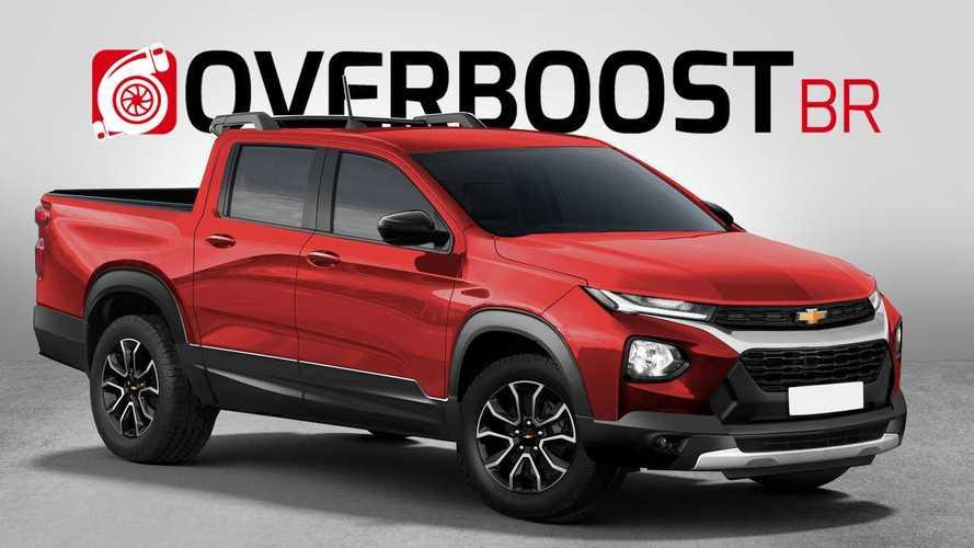 Nova Chevrolet Montana: veja como pode ficar a picape