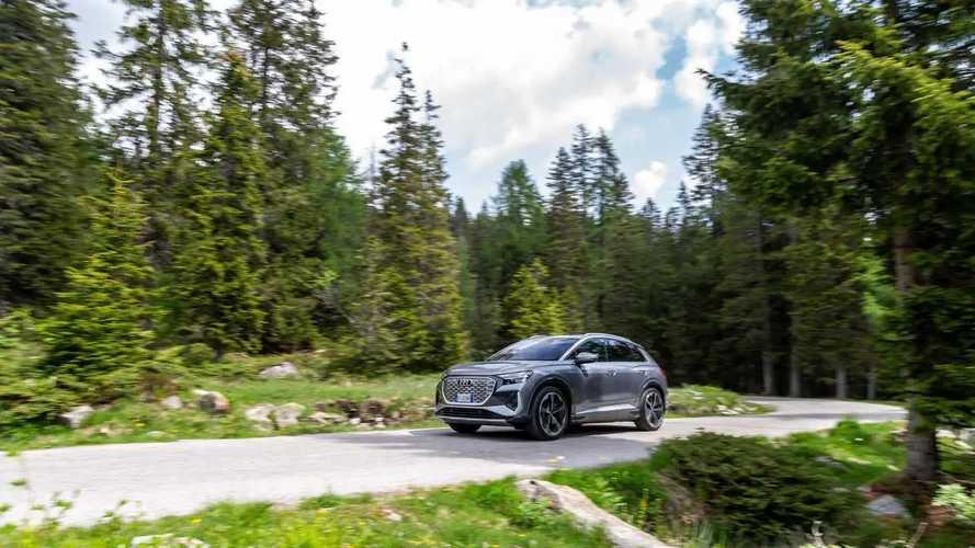 Audi Q4 e-tron, prova su strada
