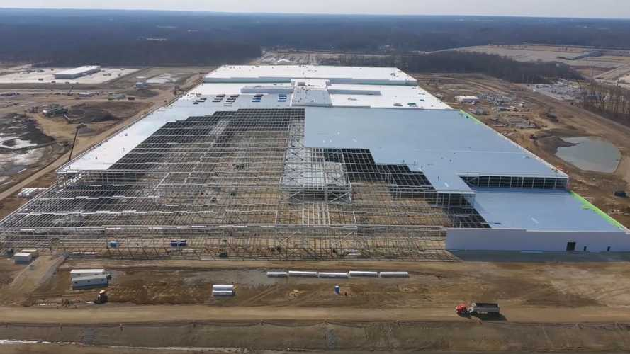 Ultium Cells Battery Plant Construction Progress: March 8, 2021